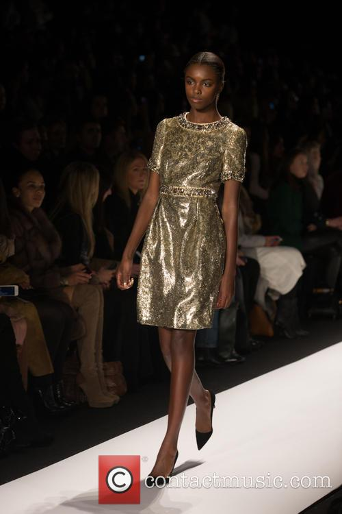 Mercedes-benz New York Fashion, Week, Dennis Basso and Catwalk 4