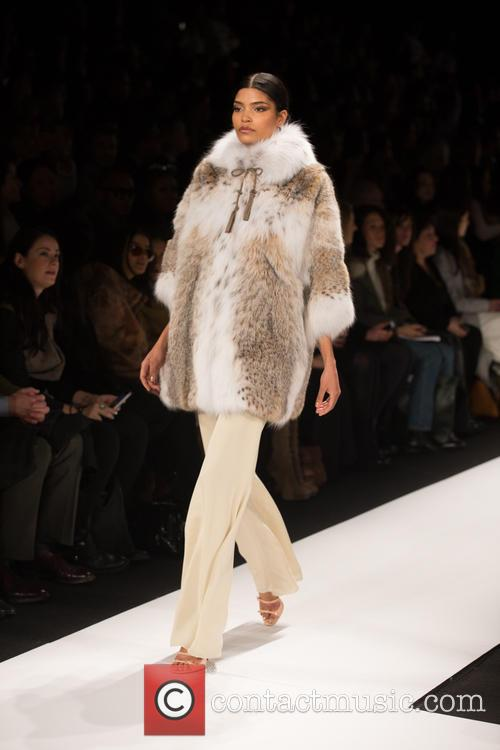 Mercedes-benz New York Fashion, Week, Dennis Basso and Catwalk 6
