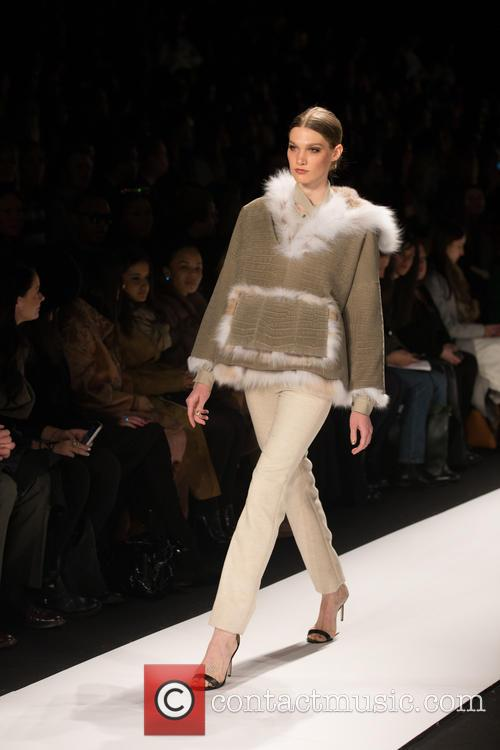 Mercedes-benz New York Fashion, Week, Dennis Basso and Catwalk 7