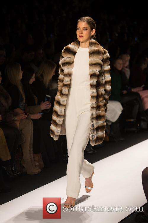 Mercedes-benz New York Fashion, Week, Dennis Basso and Catwalk 8