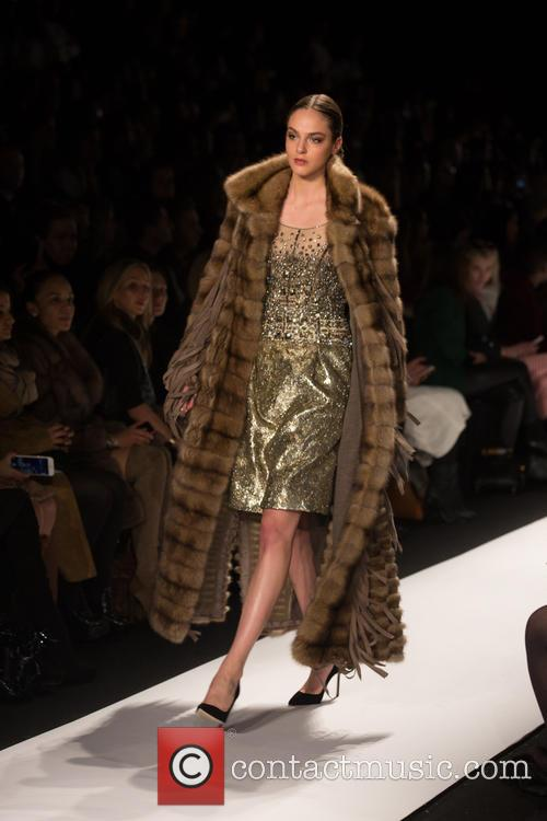 Mercedes-benz New York Fashion, Week, Dennis Basso and Catwalk 11