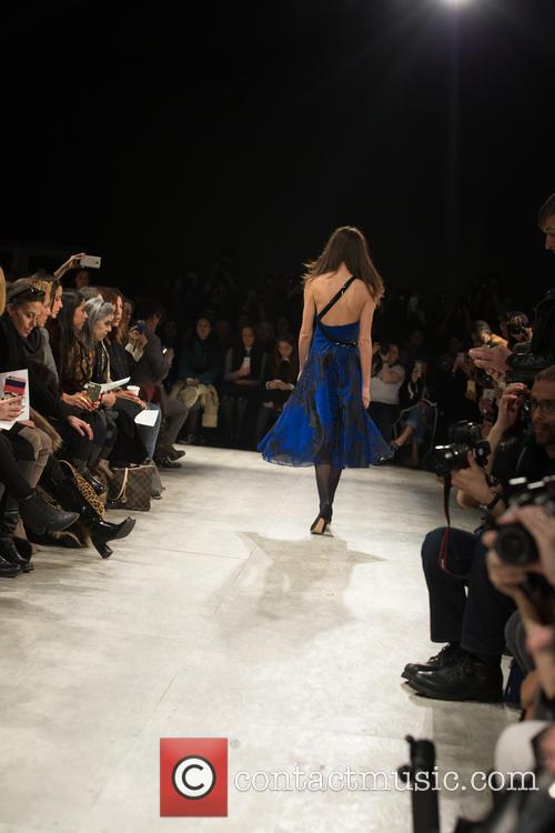 Mercedes-Benz New York Fashion Week - Pamela Roland...