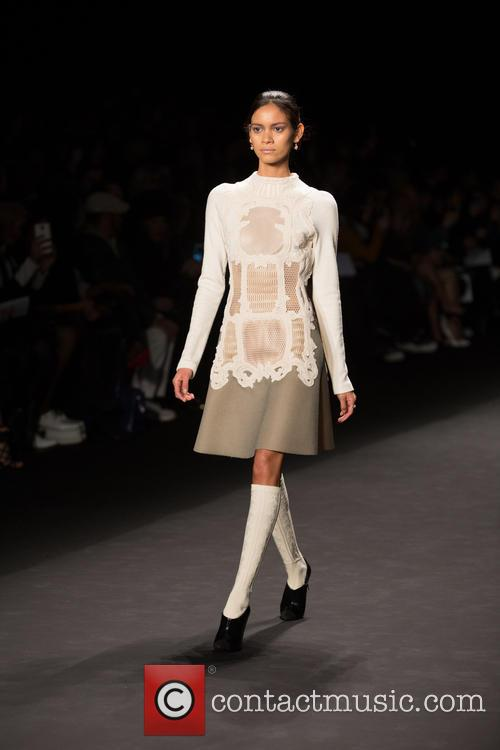 Mercedes-benz New York Fashion, Week, Viveinne Tam and Runway 5