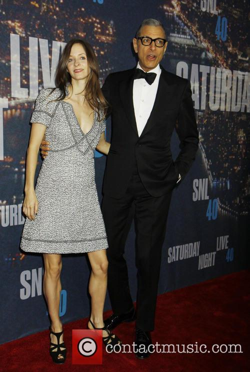 Jeff Goldblum and Girlfriend 4