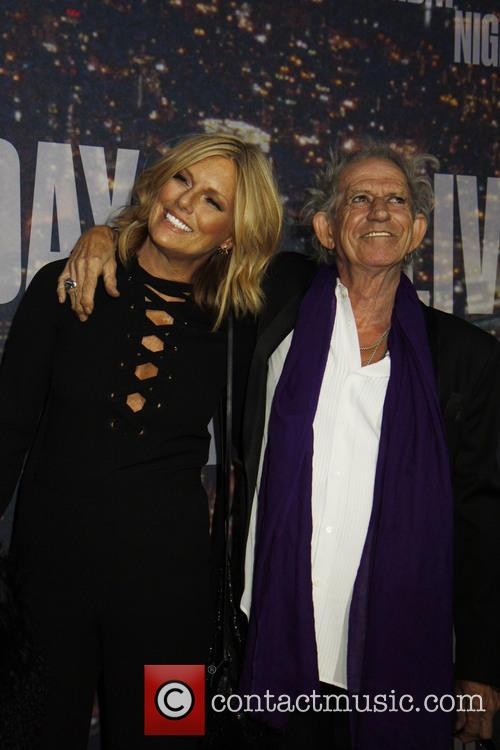 Keith Richards and Patti 2