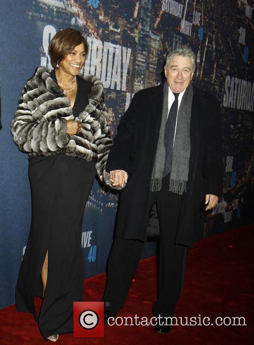 Robert Deniro and Grace Hightower