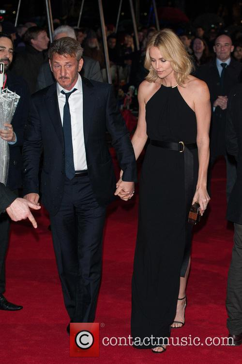 Sean Penn and Charlize Theron 2