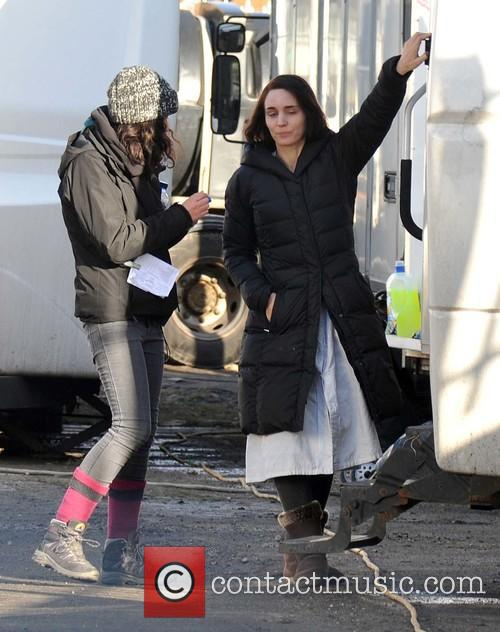 'The Secret Scripture' filming