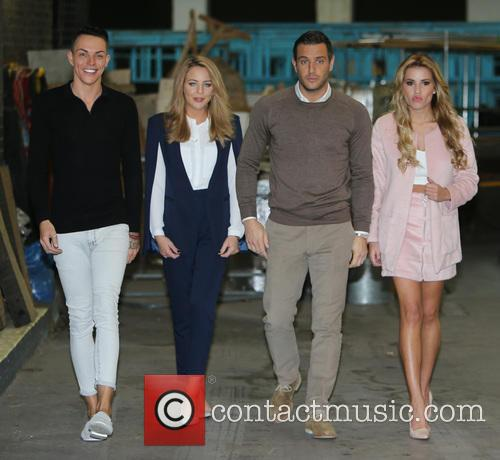 Lydia Bright, Gerogia Kousoulou, Bobby Norris and Elliot Wright 2