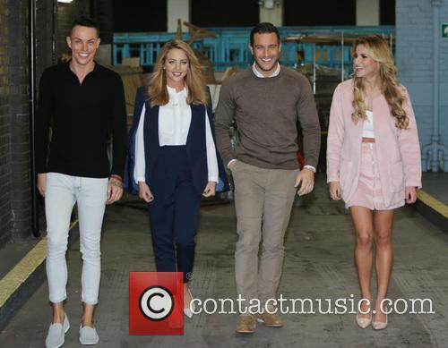 Lydia Bright, Gerogia Kousoulou, Bobby Norris and Elliot Wright 3