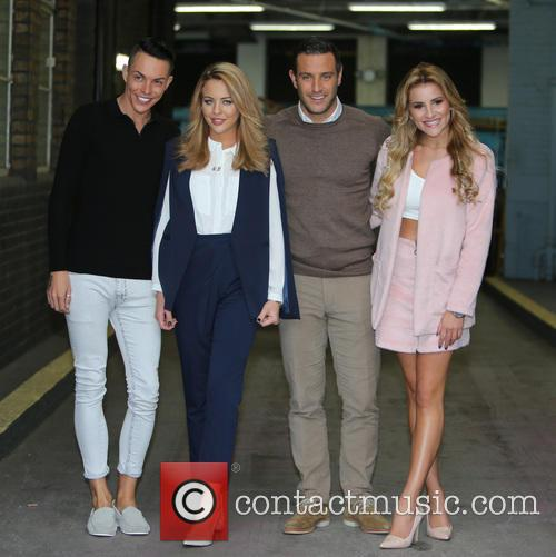 Lydia Bright, Gerogia Kousoulou, Bobby Norris and Elliot Wright 4