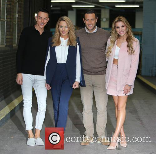 Lydia Bright, Gerogia Kousoulou, Bobby Norris and Elliot Wright 1