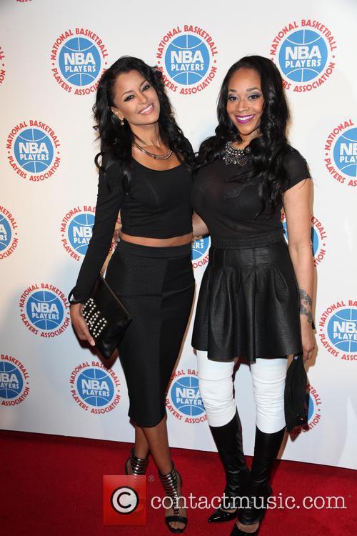 Claudia Jordan and Mimi Faust 5