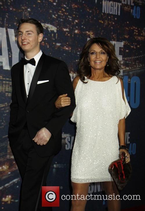 Sarah Palin and Son 4