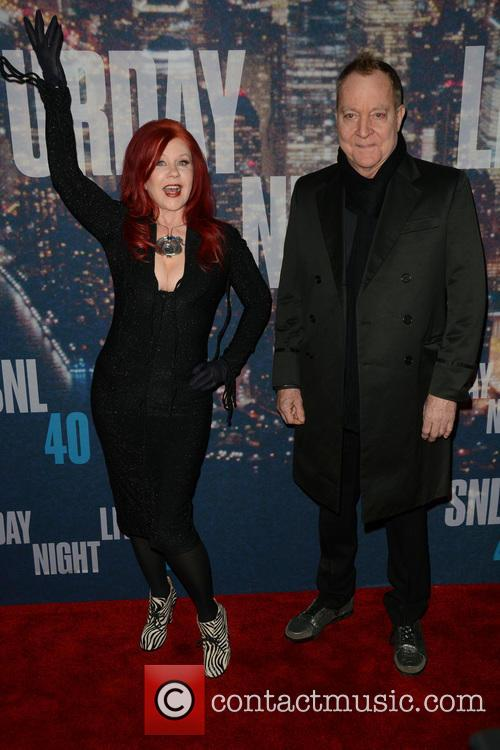 Kate Pierson and Fred Schneider