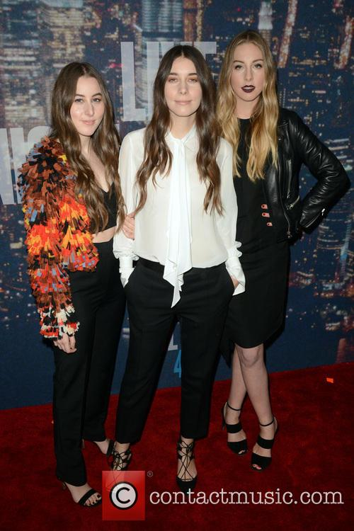 Haim at the SNL Anniversary special