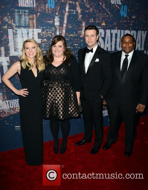 Kate Mckinnon, Taran Killam and Keenan Thompson