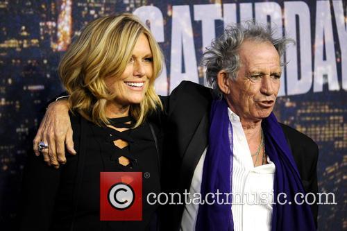 Patti Hansen and Keith Richards 2