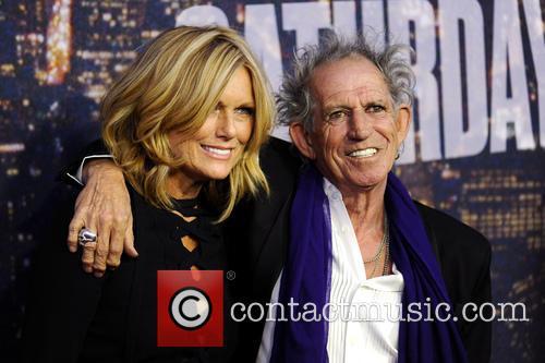 Patti Hansen and Keith Richards 1