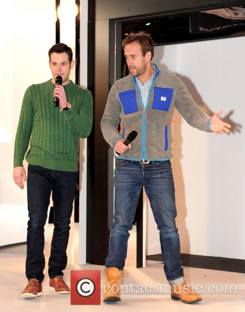 Matt Baker and Ben Fogle