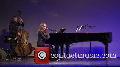 Maria Toledo performs at Compaq Gran Via de...