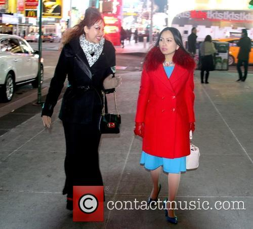 Quynh Paris and Ha Phuong out and about...