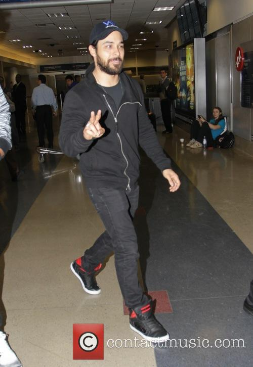 Wilmer Valderrama at Los Angeles International Airport (LAX)