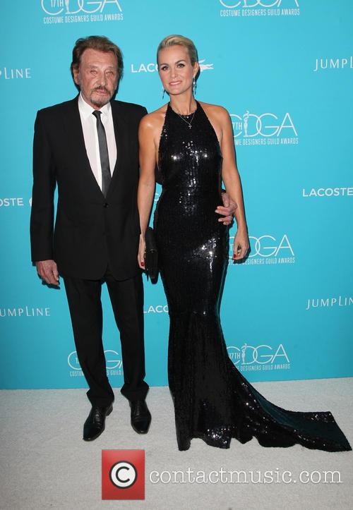 Johnny Hallyday and Laeticia Hallyday 6