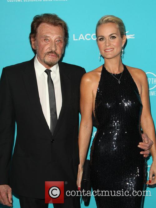 Johnny Hallyday and Laeticia Hallyday 1