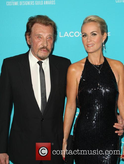 Johnny Hallyday and Laeticia Hallyday 8