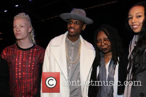 Shaun Ross, Fabulous, Whoopi Goldberg and Jerzey Martin 1