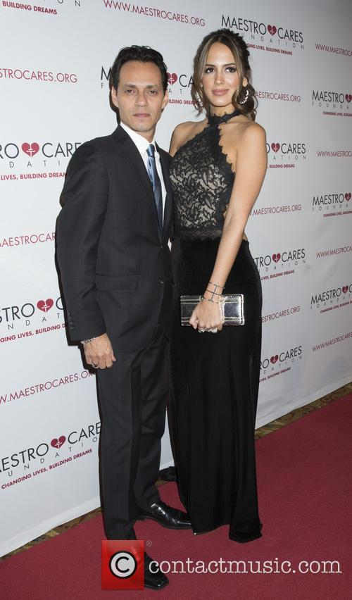 Marc Anthony and Shannon De Lima 2
