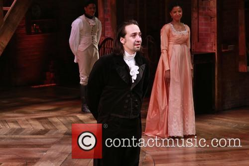 Lin-manuel Miranda and Renee Elise Goldsberry 1