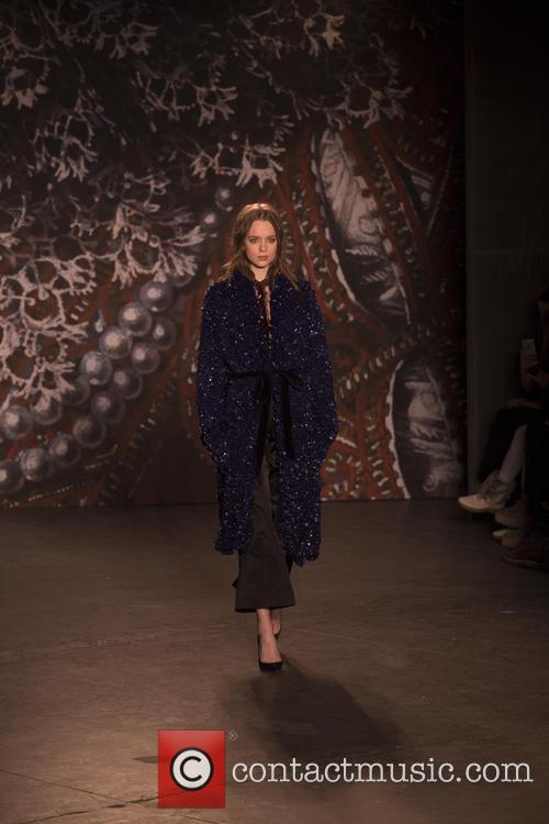 Mercedes-benz New York Fashion, Week, Jenny Packham and Runway 2