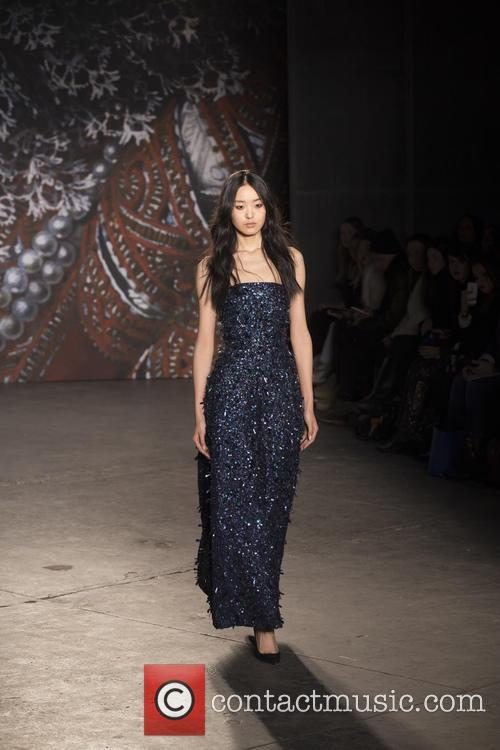 Mercedes-benz New York Fashion, Week, Jenny Packham and Runway 7