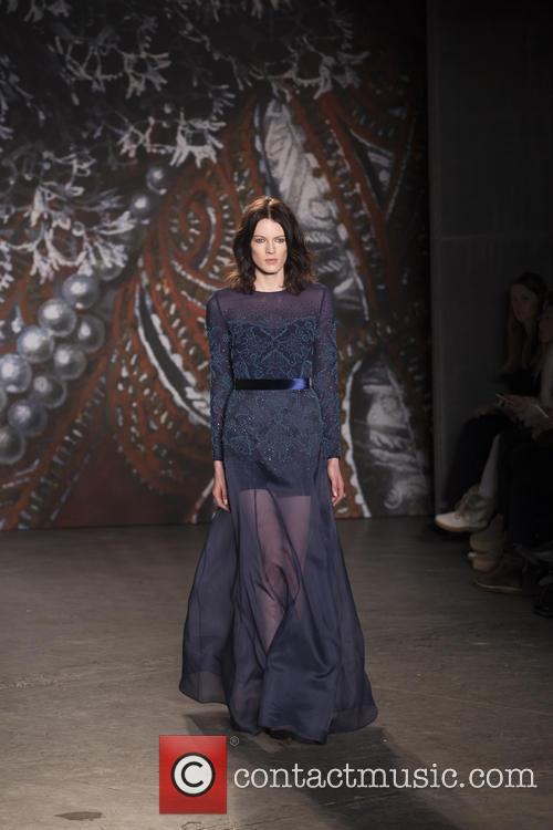 Mercedes-benz New York Fashion, Week, Jenny Packham and Runway 8