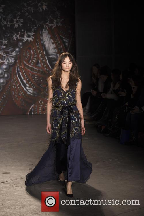Mercedes-benz New York Fashion, Week, Jenny Packham and Runway 10
