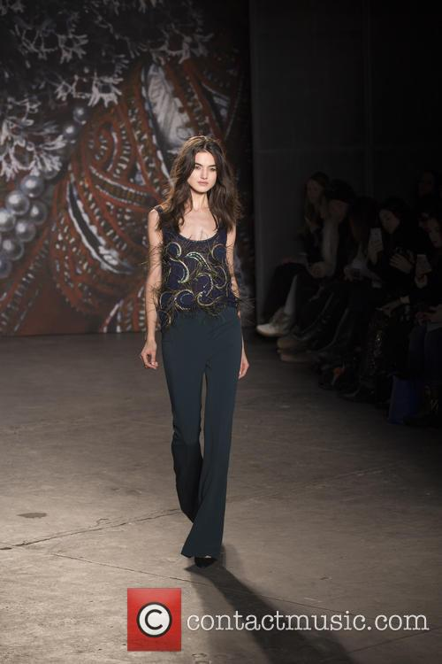 Mercedes-benz New York Fashion, Week, Jenny Packham and Runway 11
