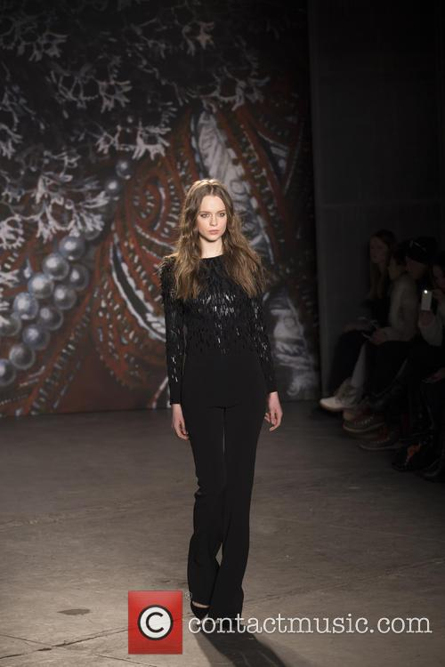 Mercedes-Benz New York Fashion Week - Jenny Packham...