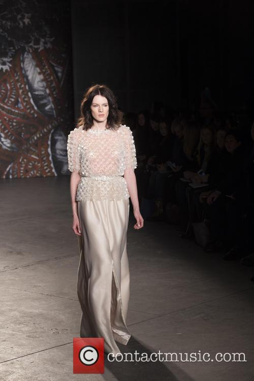 Mercedes-benz New York Fashion, Week, Jenny Packham and Runway