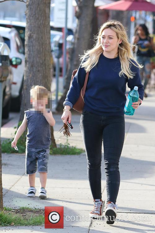 Hilary Duff and Luca Comrie 11