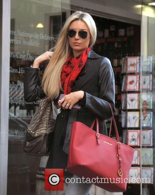 Former Miss World Rosanna Davison out and about...