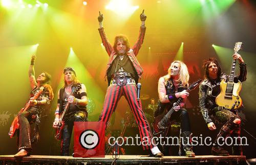 Alice Cooper performs live