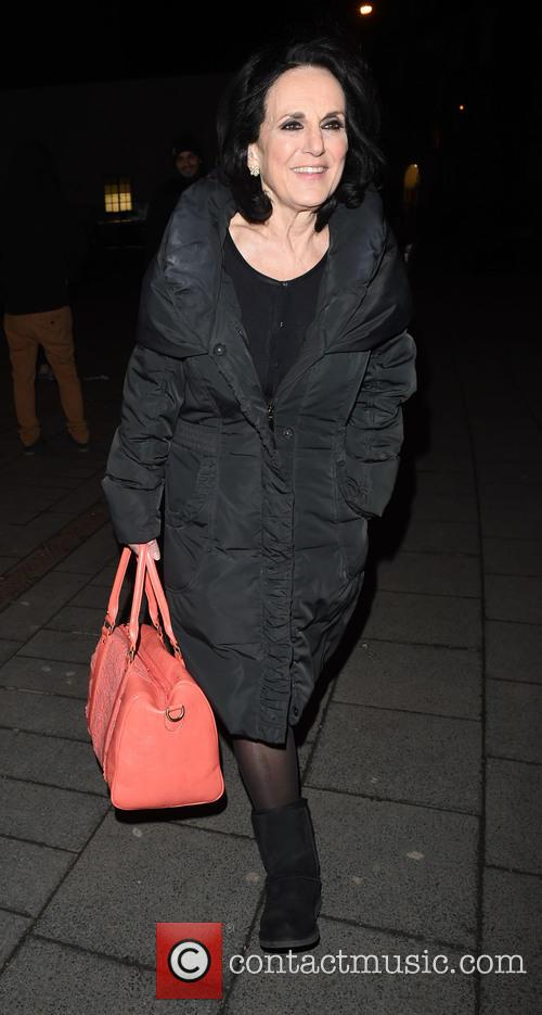 Celebrities leave Hammersmith Apollo after watching Sam Bailey...