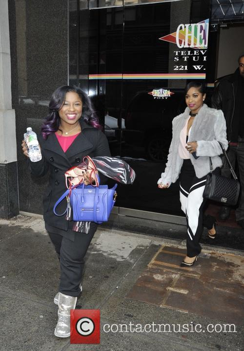 Toya and Reginae Carter 3
