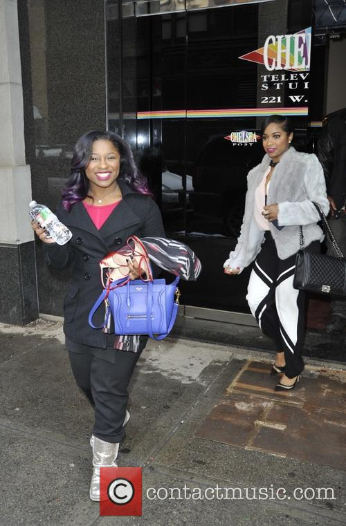 Toya and Reginae Carter 4