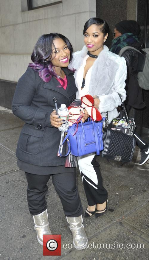 Toya and Reginae Carter 9