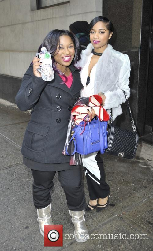 Toya and Reginae Carter 10