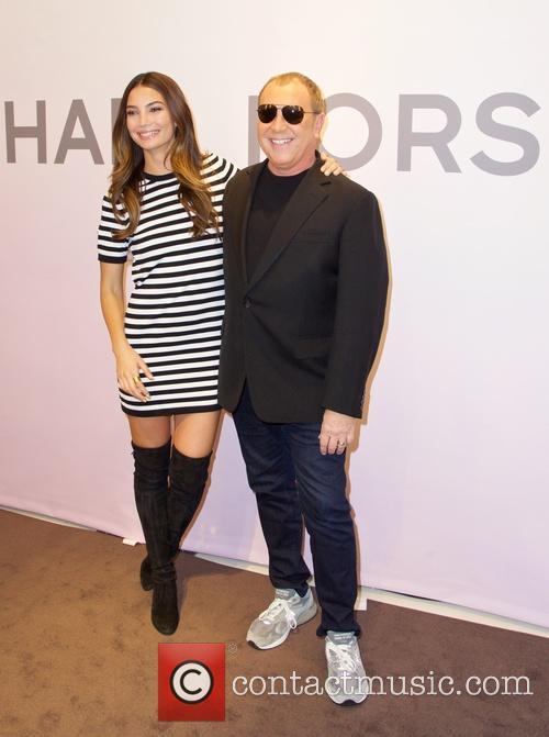 Lily Aldridge and Michael Kors 7