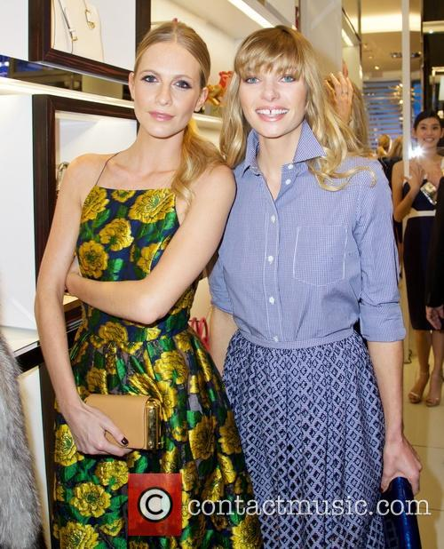 Poppy Delevingne and Jessica Hart 2